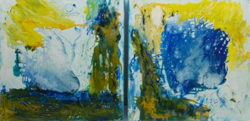 Geoffrey Harrop (British 1947-): Aquatic Abstracts