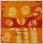 Heidi Konig (British 1964-): 'Apricot Yellow'