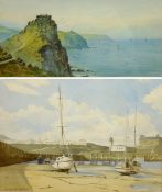 Thomas Hart (British 1830-1916): 'Castle Rock