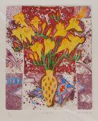 Tanya Short (British 1955-): 'Freesias'