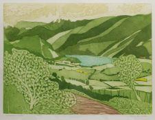 John Brunsdon (British 1933-2014): 'Ennerdale Water'