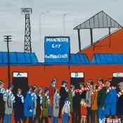William Findley Burns (Northern British 1949-): The Manchester Derby