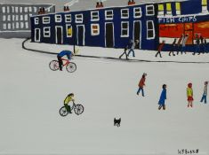 William Findley Burns (Northern British 1949-): 'The Chip Shop'
