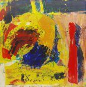 Geoffrey Harrop (British 1947-): 'Abstract in Yellow'