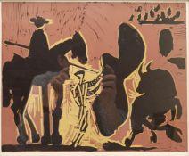 After Pablo Picasso (Spanish 1881-1973): 'Avant la Pique'