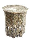 Early 20th century Islamic octagonal table