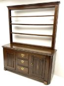 19th century oak dresser