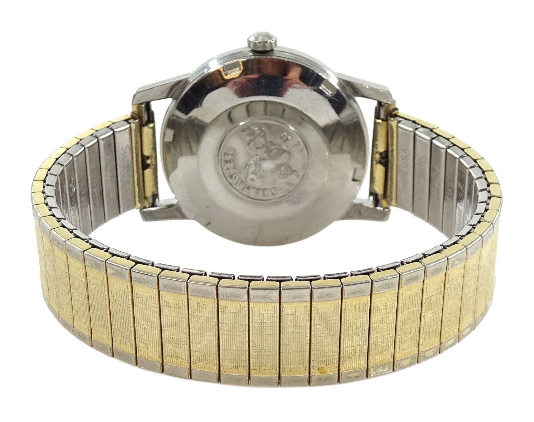 Omega Seamaster automatic gentleman's stainless steel wristwatch - Image 3 of 3