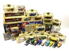 Various die-cast model vehicles including Corgi boxed set 'Fighting Machines'