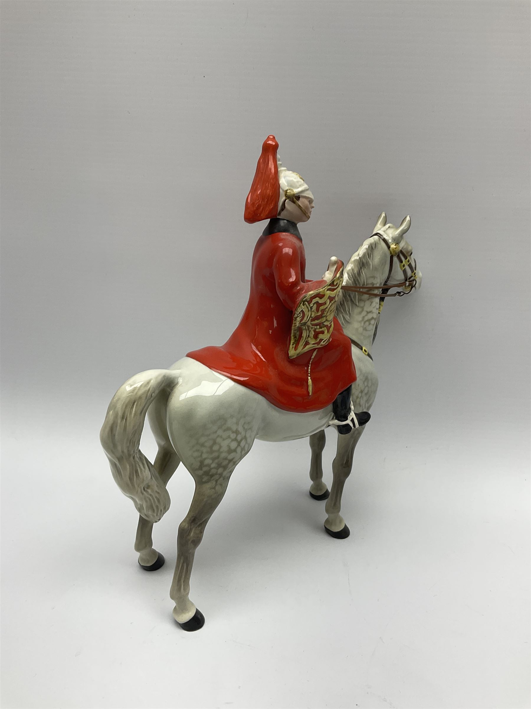 A Beswick model of Lifeguard on grey horse - Image 5 of 7