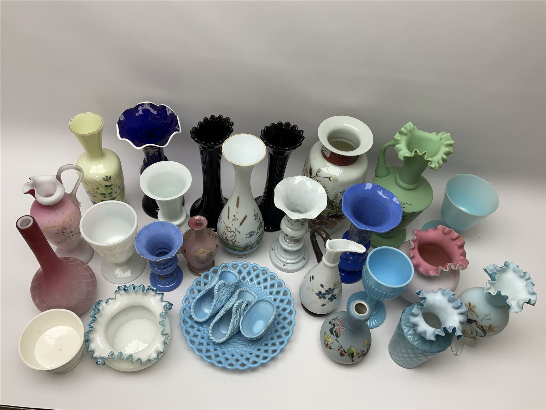 A group of mostly Victorian glassware - Image 2 of 2