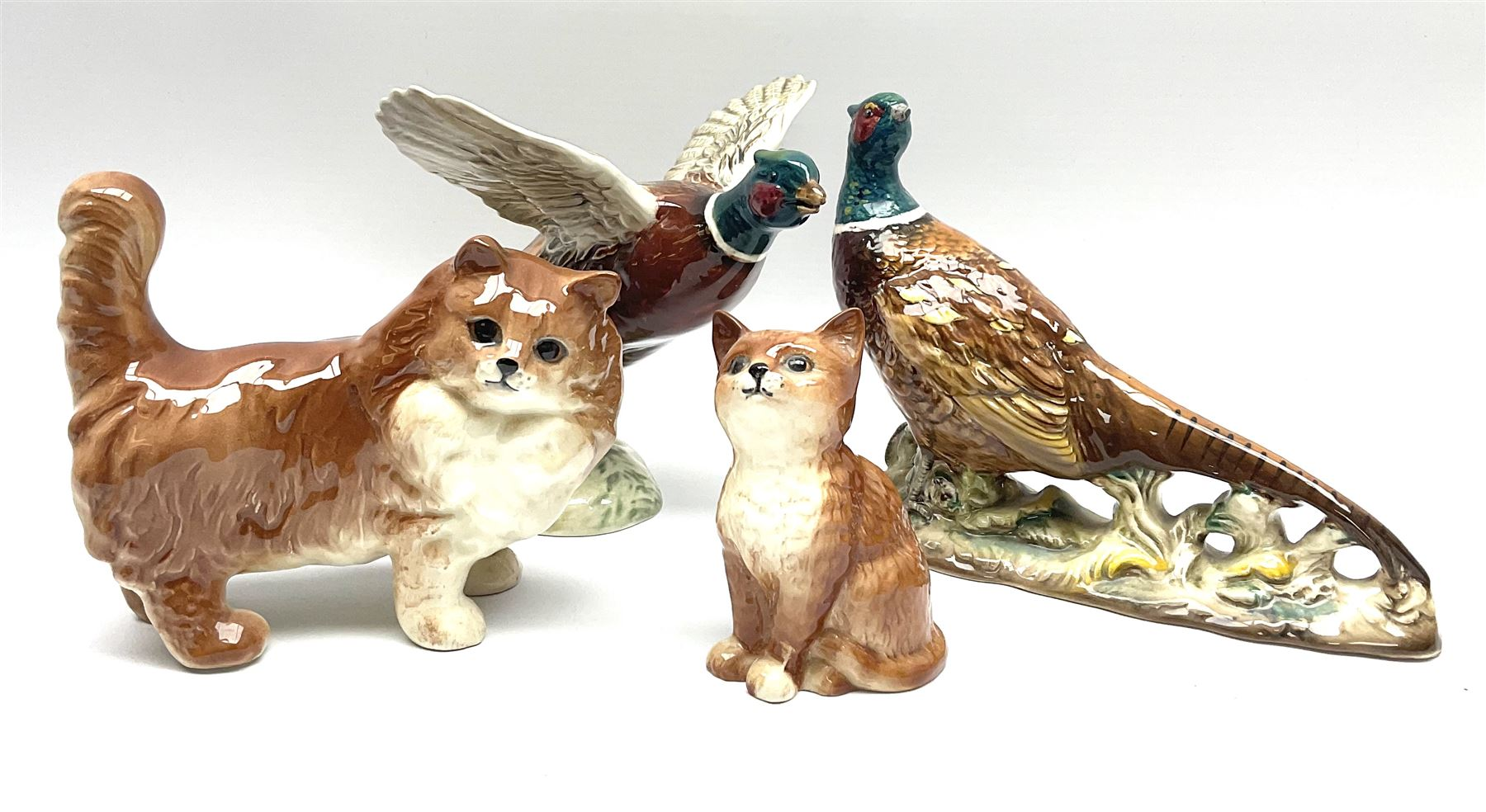 A collection of Beswick figures