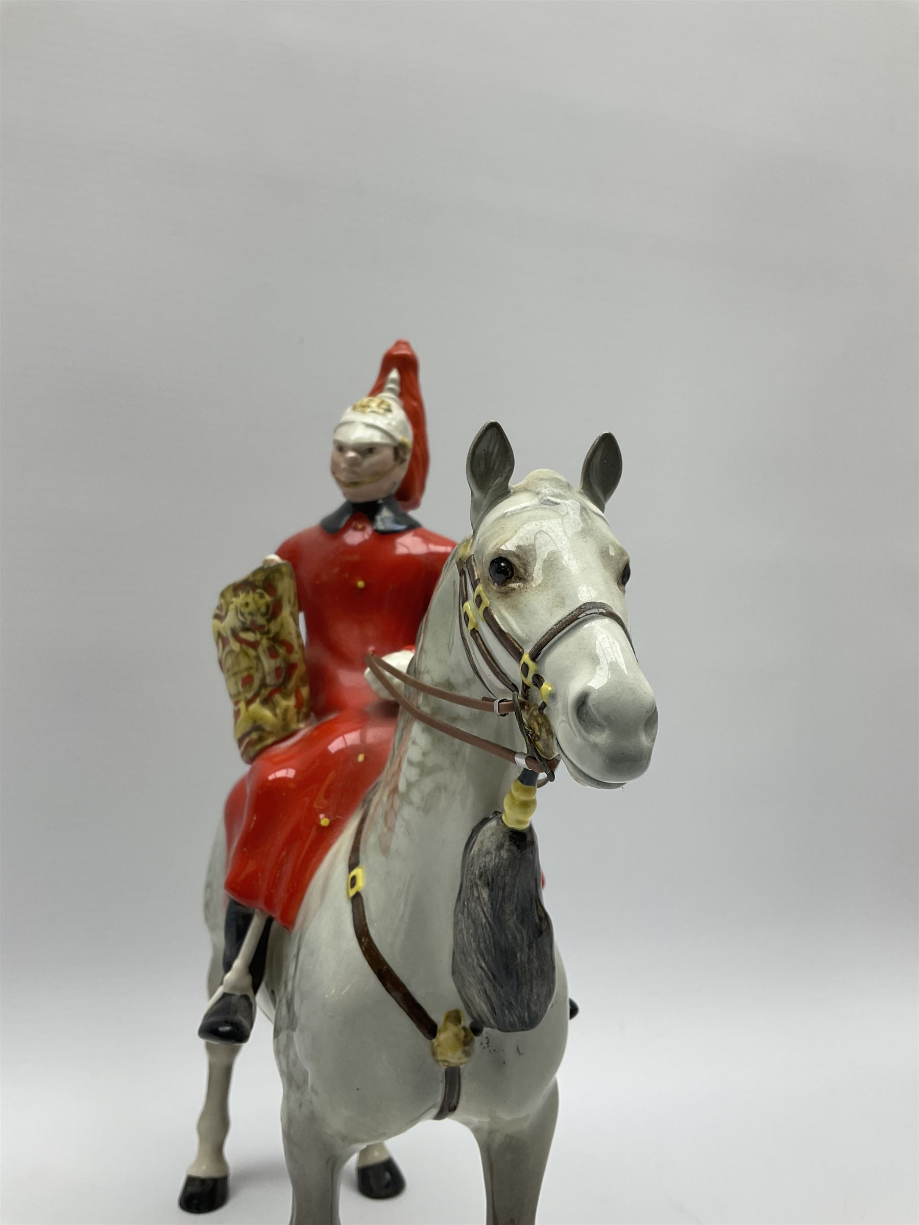 A Beswick model of Lifeguard on grey horse - Image 3 of 7