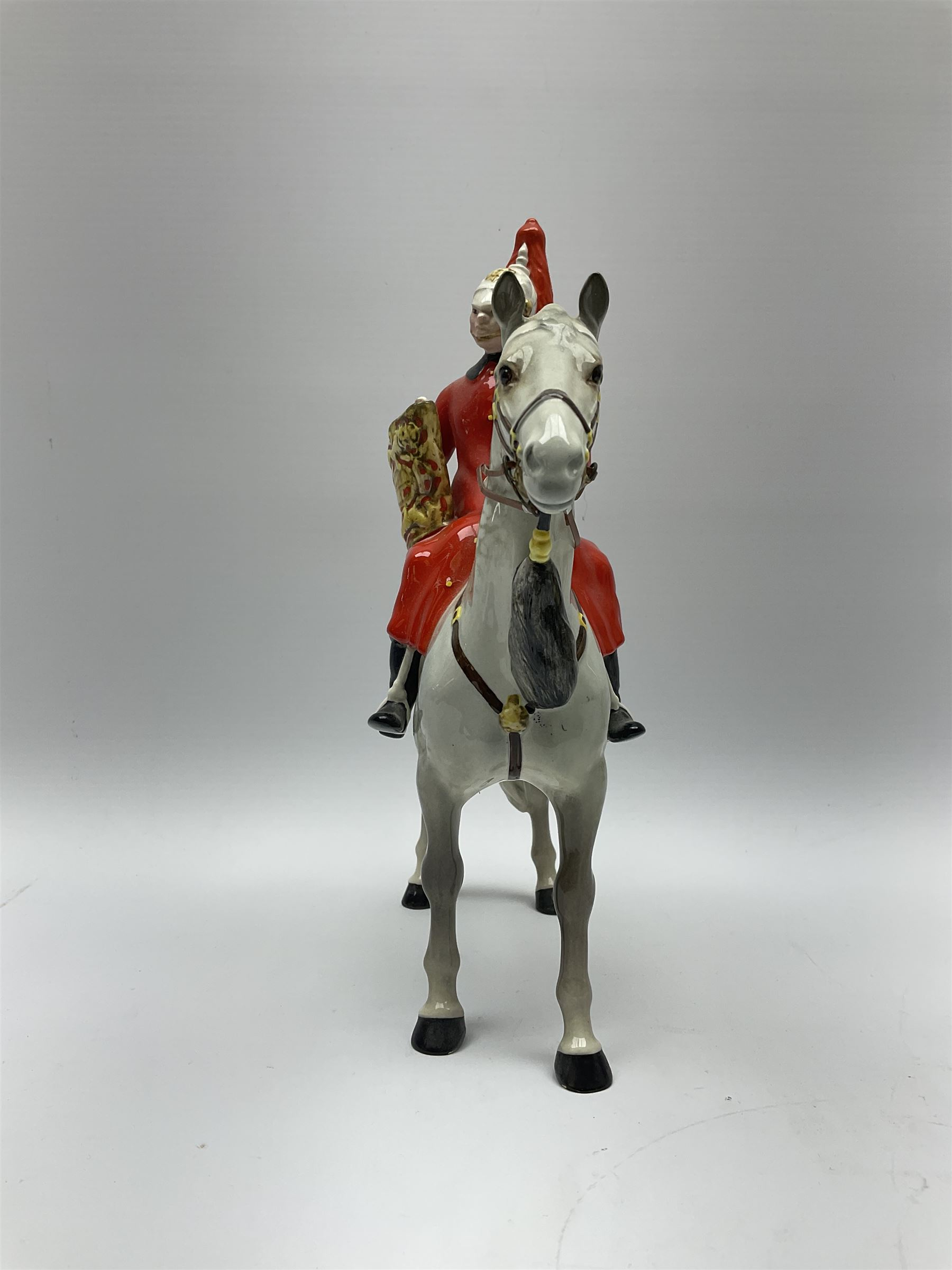 A Beswick model of Lifeguard on grey horse - Image 2 of 7