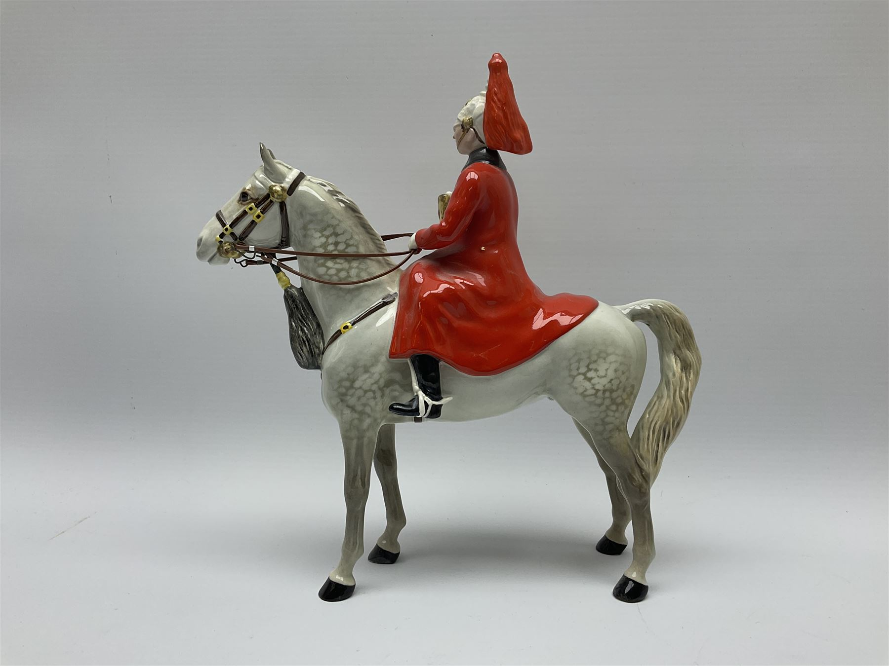A Beswick model of Lifeguard on grey horse - Image 4 of 7