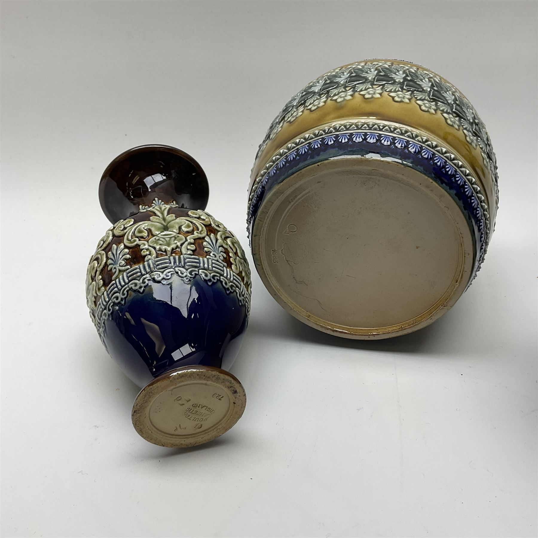 A collection of Doulton Lambeth - Image 3 of 5