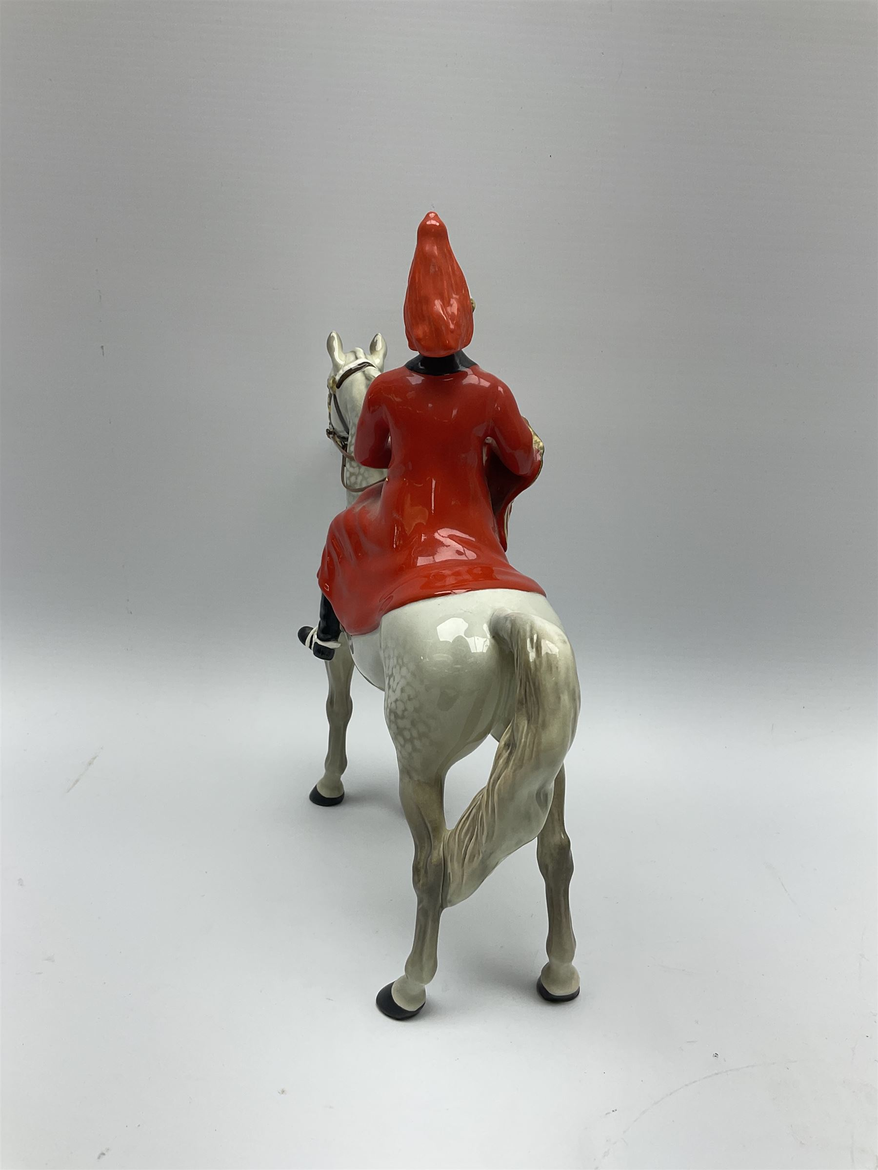 A Beswick model of Lifeguard on grey horse - Image 6 of 7