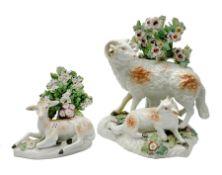 18th century Derby porcelain group