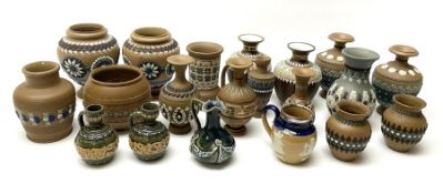 A group of Doulton Lambeth