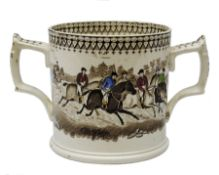 A 19th Century Staffordshire Loving Cup
