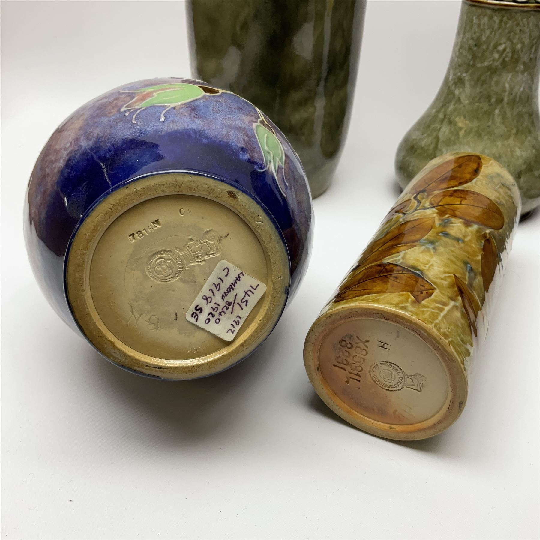 A group of Royal Doulton vases of various form and decoration - Image 3 of 3