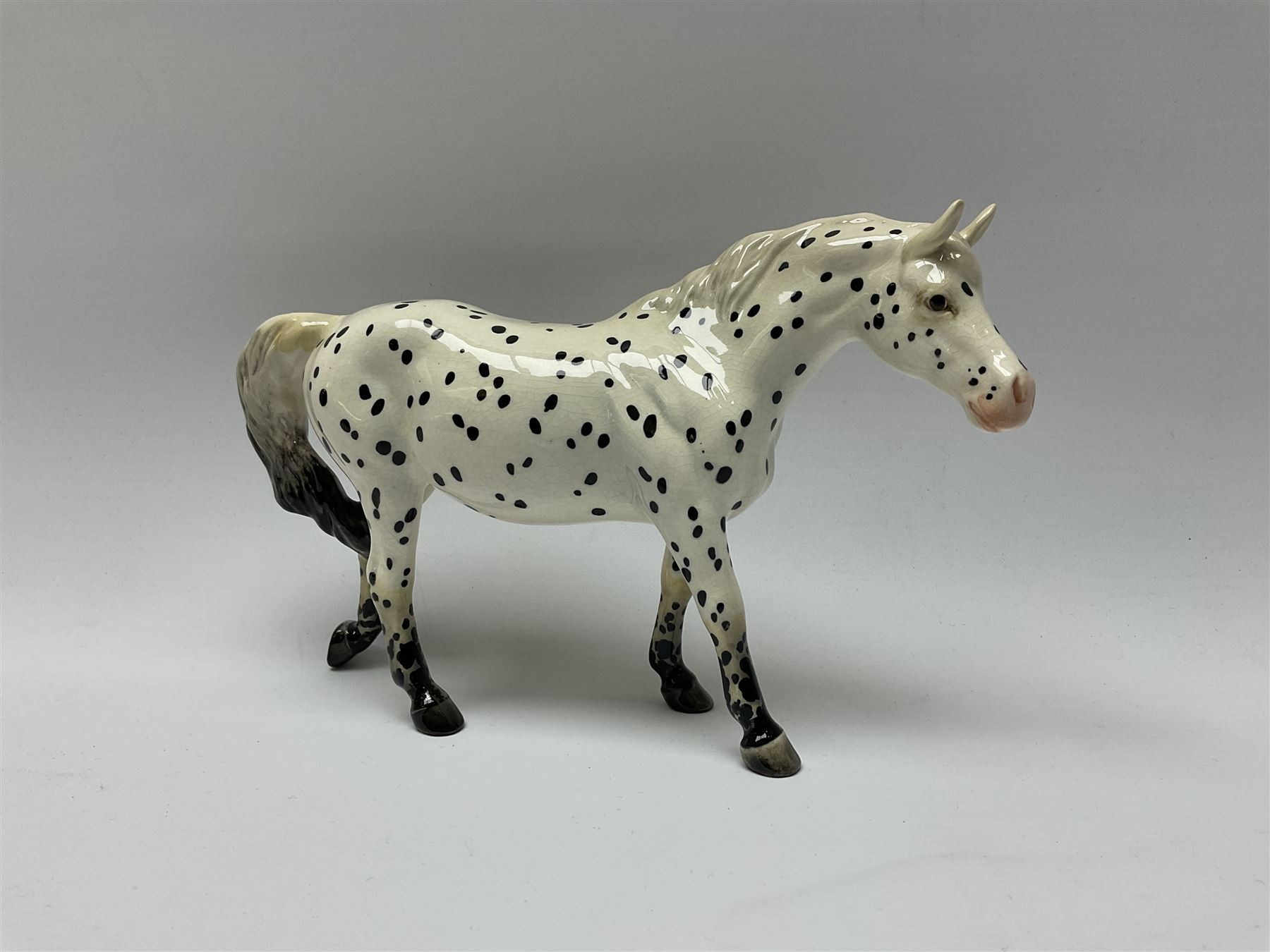A Beswick model of an Appaloosa horse - Image 7 of 7