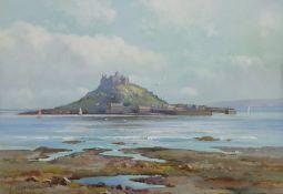 H Gordon (British early 20th century): St Michael's Mount