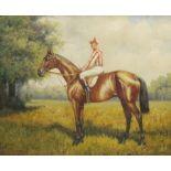 After Benjamin Lander (1842-1915): Mounted Jockey