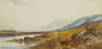 English School (Early 20th century): Scottish Landscapes