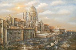 Continental School (20th century): Venetian Church