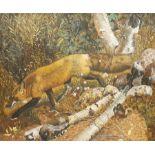 Continental School (20th century): Fox in the Undergrowth