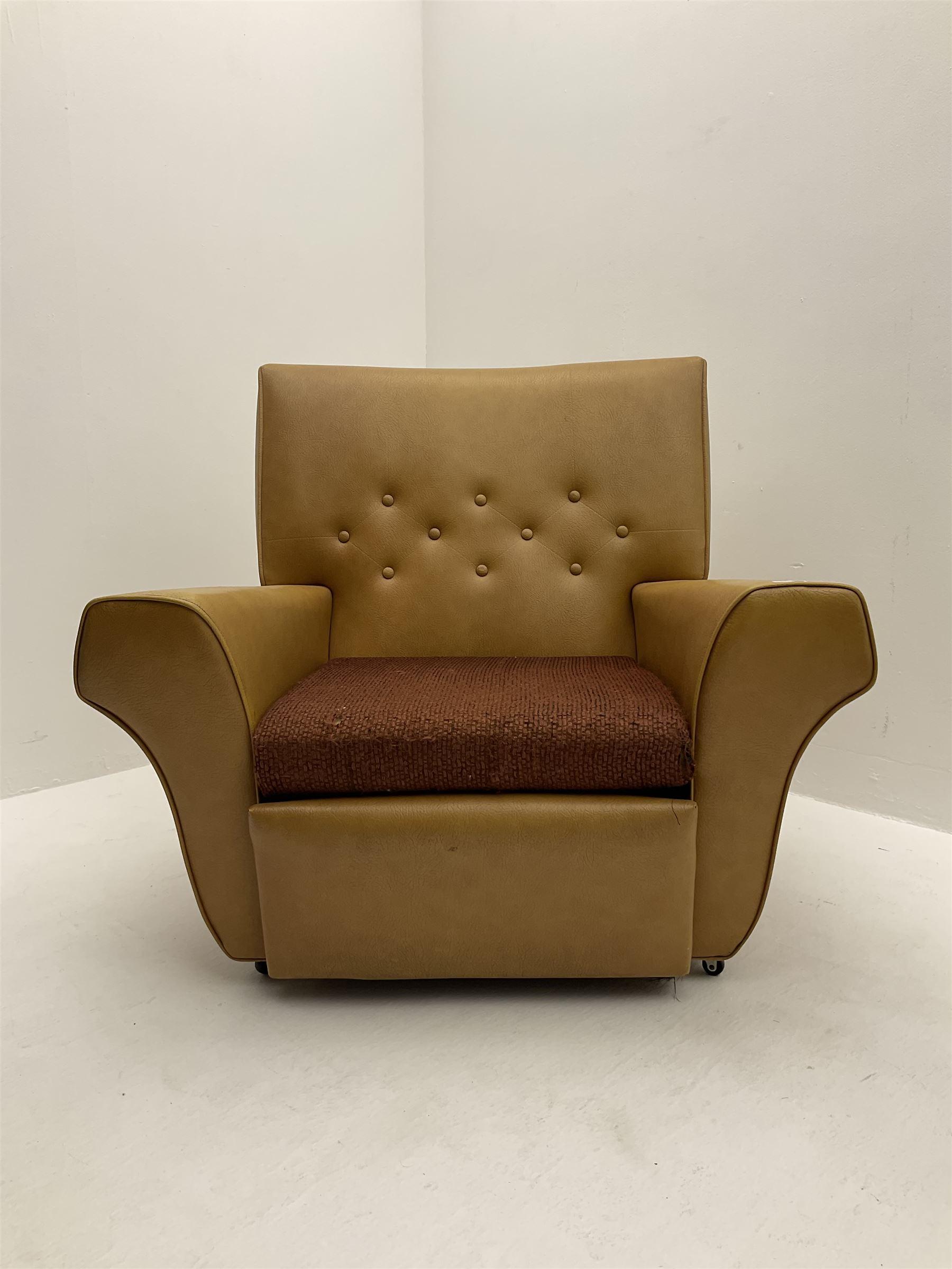 Retro armchair - Image 2 of 2