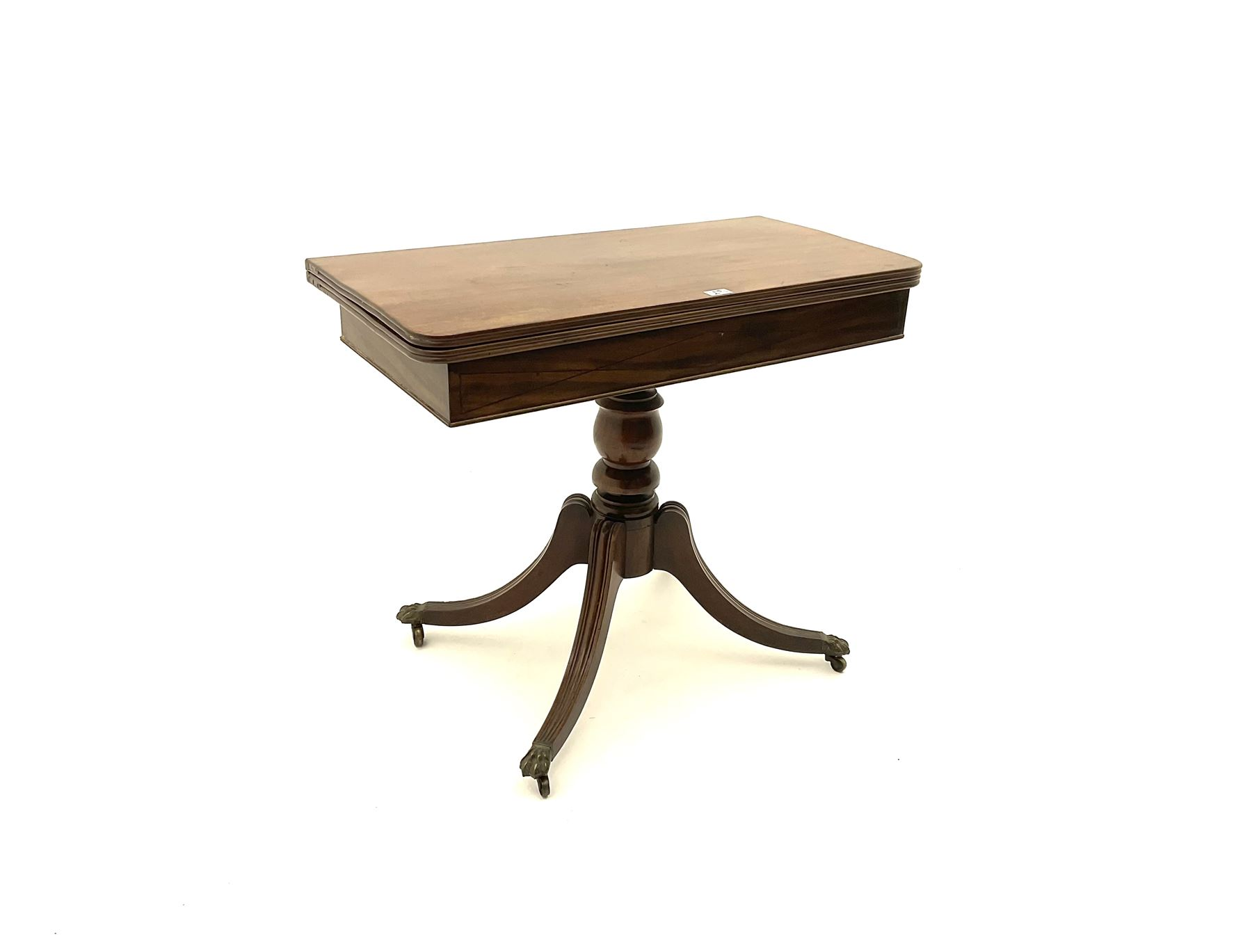 Regency mahogany pedestal table - Image 3 of 3