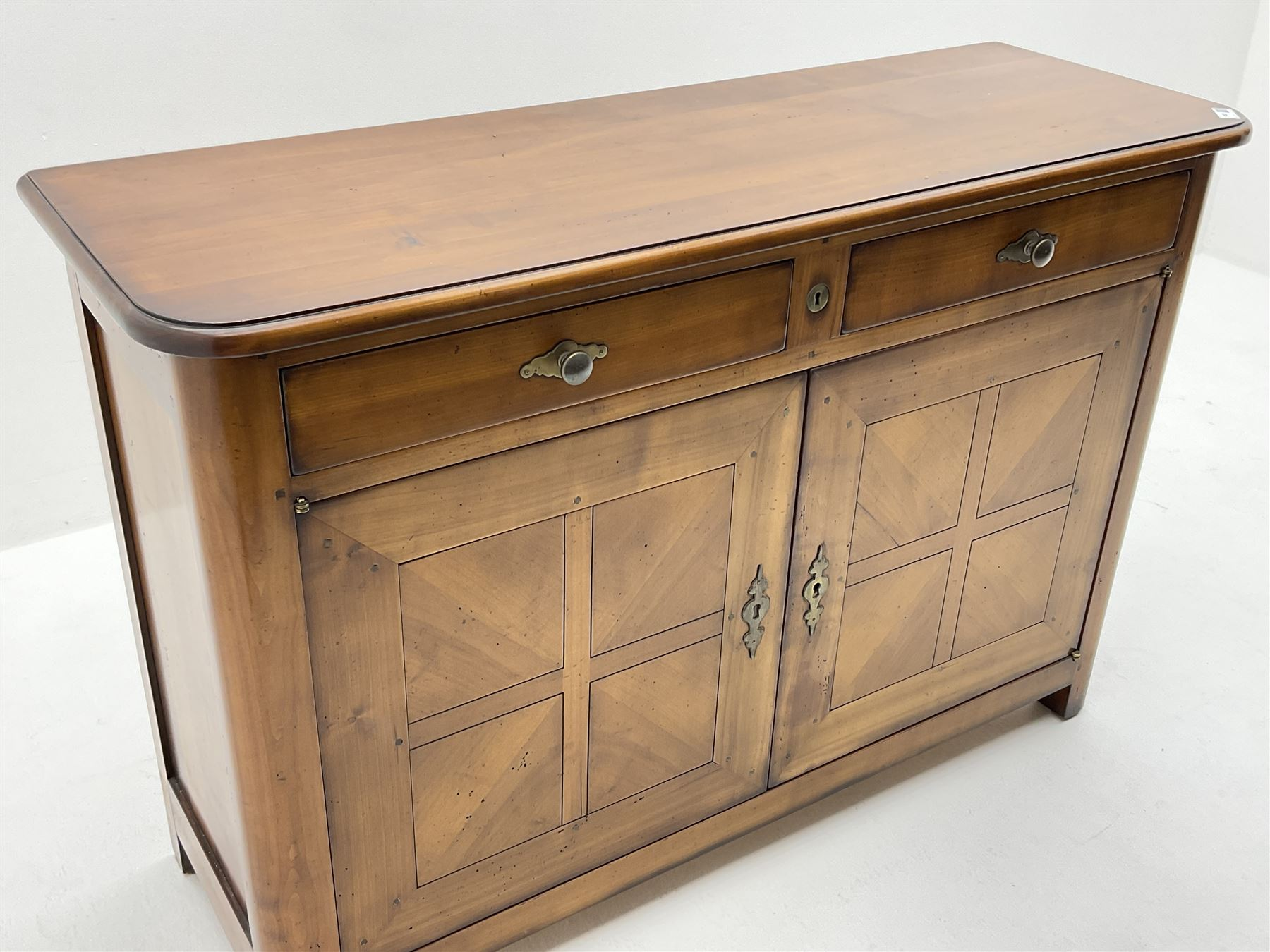 French cherry wood sideboard - Image 2 of 3
