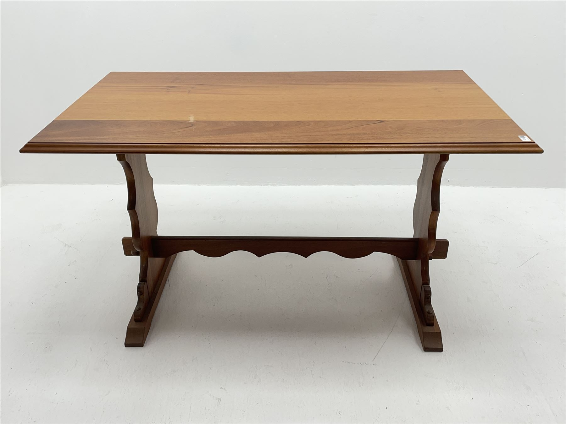 Late 20th century teak table - Image 3 of 3
