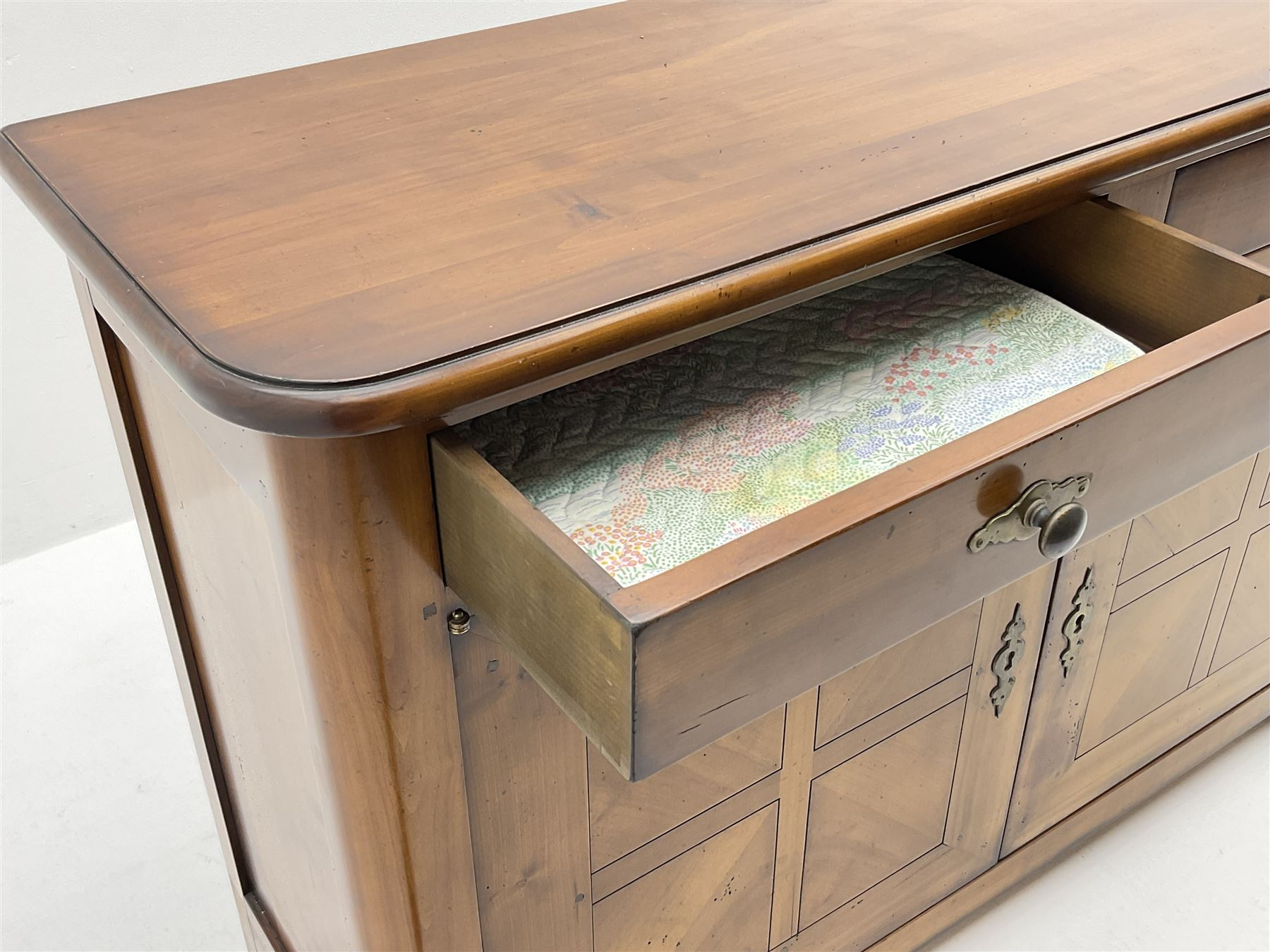 French cherry wood sideboard - Image 3 of 3