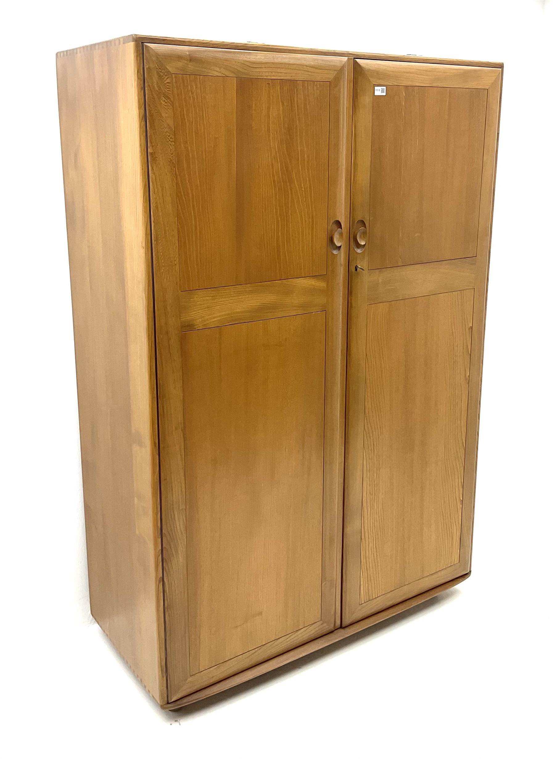 Ercol double wardrobe - Image 2 of 4
