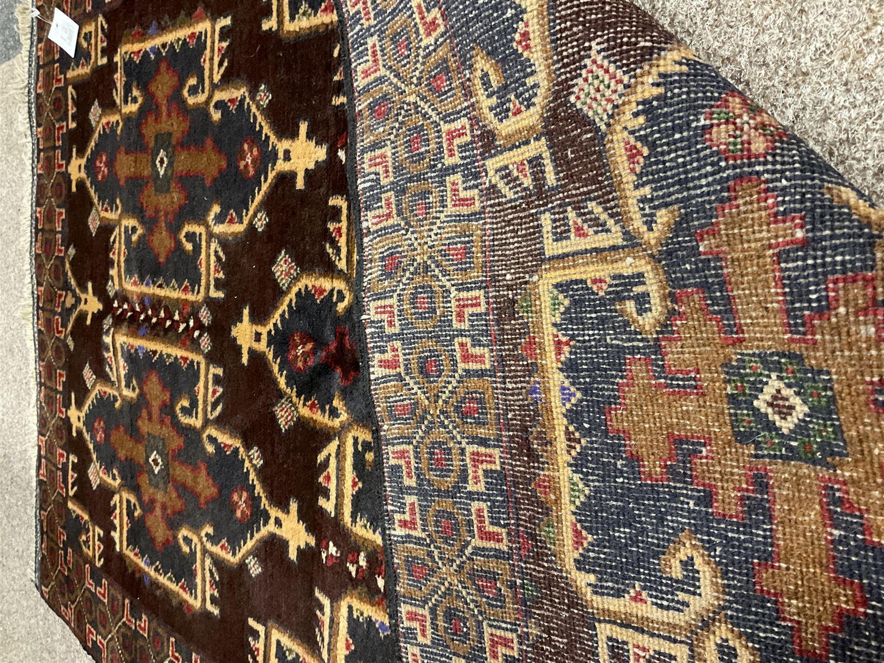 Small Persian Baluchi rug - Image 3 of 3