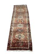 Karajeh red ground rug