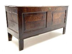 18th century oak coffer