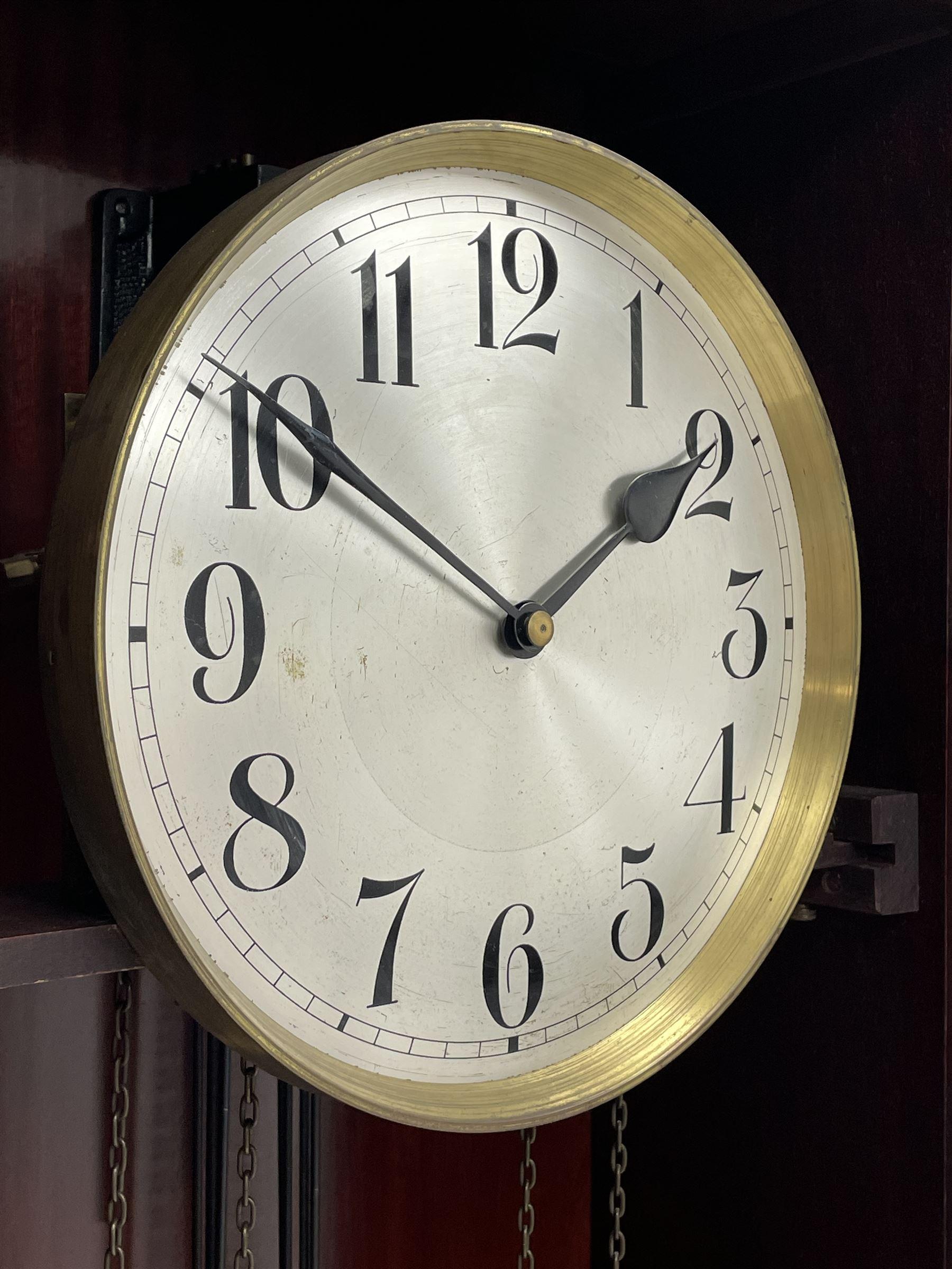Early 20th century mahogany longcase clock - Image 3 of 4