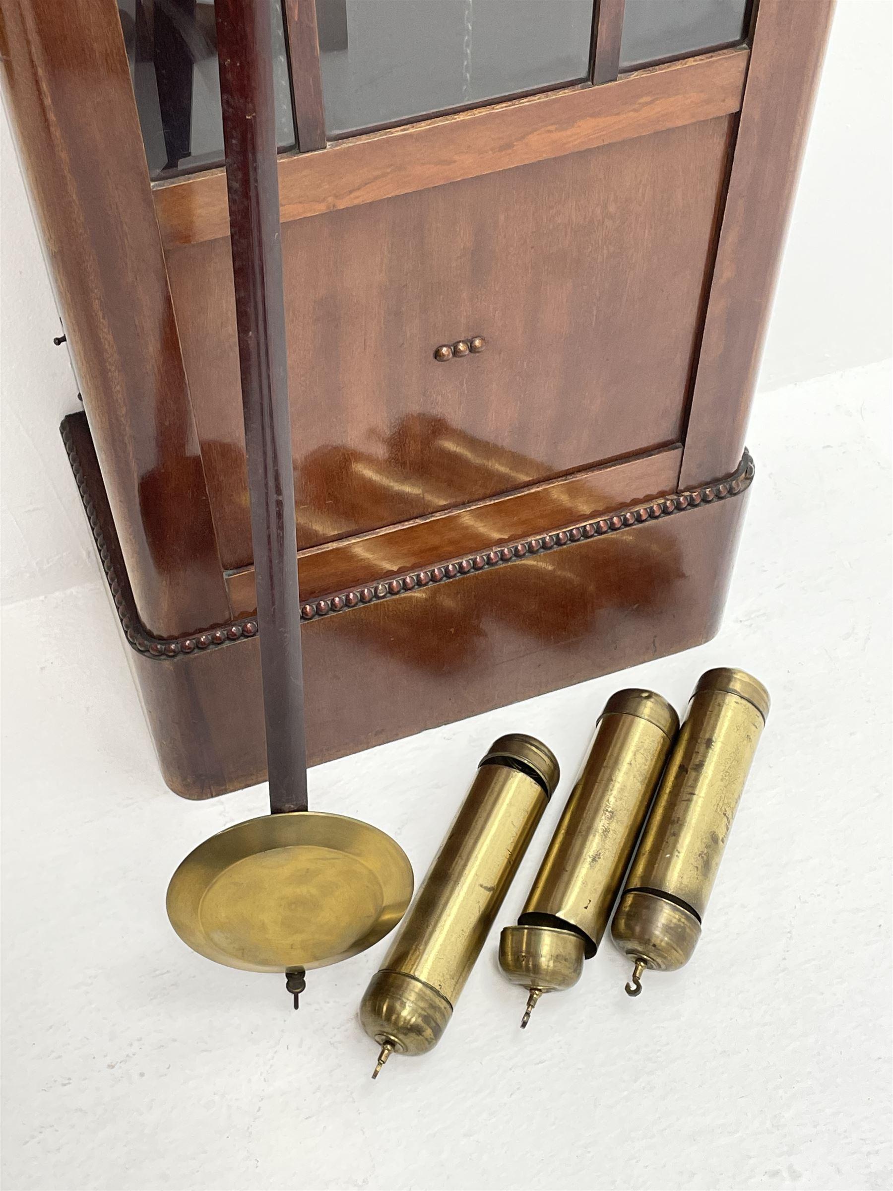 Early 20th century mahogany longcase clock - Image 2 of 4