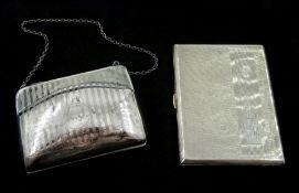 Silver purse by Horton & Allday