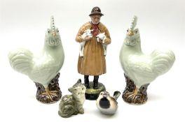Royal Doulton figure 'Lambing Time' HN1890