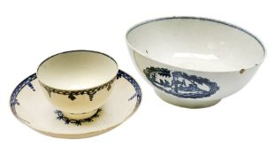 18th century Liverpool Seth Pennington slop bowl