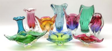 A collection of Art Glass