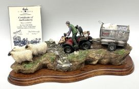 Border Fine Arts limited edition 'All In a Days Work' figure