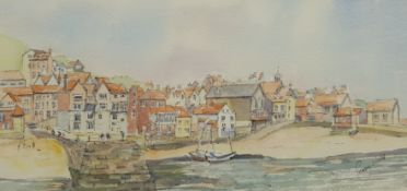 Penny Wicks (British 1949-): Tate Hill Pier Whitby