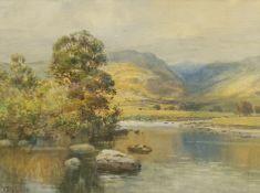 Alfred Wadham Sinclair (British/Australian 1866-1938): Llugwy Valley Wales
