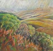 Penny Wicks (British 1949-): 'Across the Wolds'